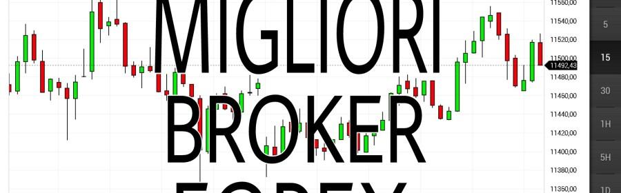 Qual'è il miglior broker forex