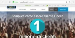 Fineco su come investire in Borsa