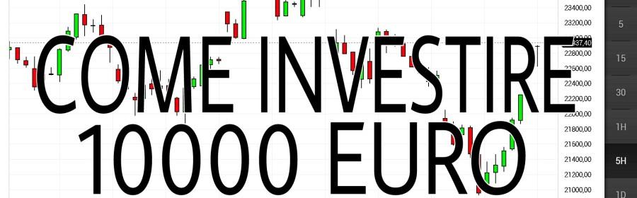 Come investire 10000 euro in posta
