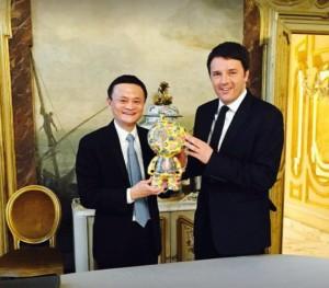 Aliexpress Italiano con Renzi e Jack Ma