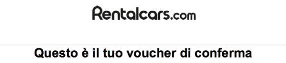 Rentalcars recensione completa compagnia noleggio auto