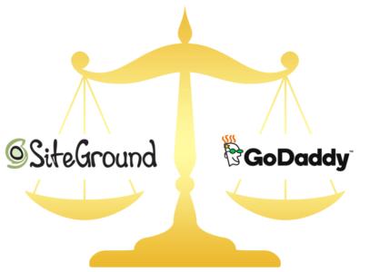 Godaddy.com vs Siteground.com