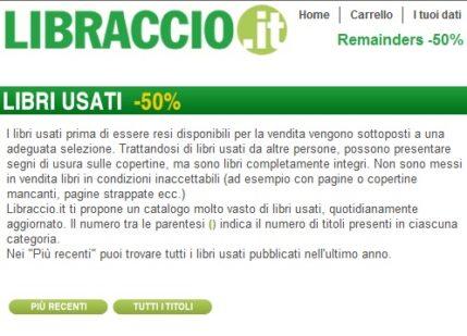 Libraccio.it è affidabile