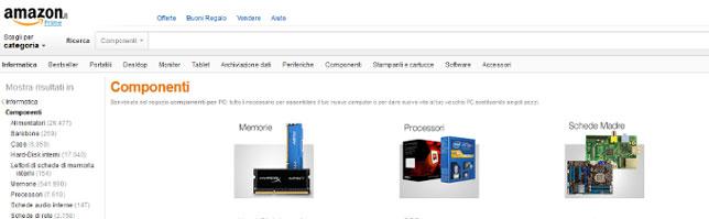 migliori siti componenti PC